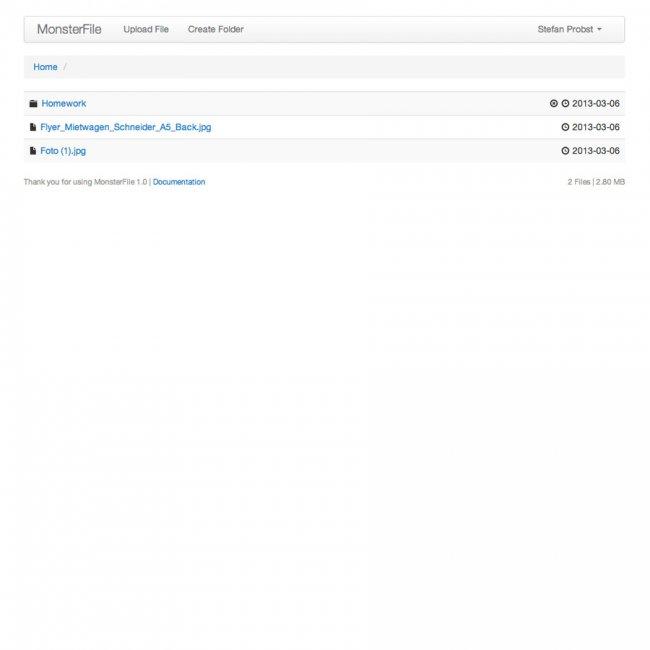 MonsterFile Multi-User File Management 1.3