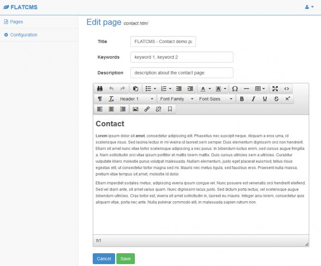2 CMS для лендингов и статических сайтов (созданных в т.ч. в Adobe Muse)